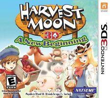Harvest Moon 3D: A New Beginning (Nintendo 3DS, 2012)