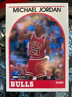 1989 MICHAEL JORDAN NBA Hoops #200 Chicago Bulls HOF GOAT ~ 10 GEM Guaranteed