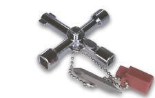 5in1 Universal Vierkantschlüssel Dreikant-/Heizungs-/Schaltschrank-Schlüssel