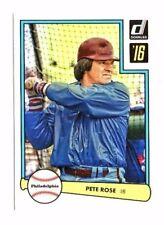 Pete Rosa 2016 PANINI DONRUSS, 1982 diseño, Baseball cartas