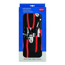 KNIPEX Professional Plier Set 3PC Cobra Cobalt Diagonal Cutter Quality Tools