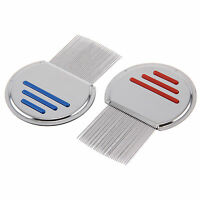 Lice Nit Comb Get Down To Nitty Gritty Stainless Steel Metal Head And Teeth