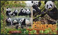 TOGO 2016 PANDAS  SHEET MINT NEVER HINGED