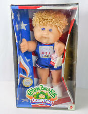 NEW Vintage Cabbage Patch Kids Olympikids 1996 Olympics Track & Field Dog NOS