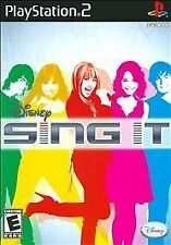 Disney Sing It   (Sony PlayStation 2, 2008) Rated E for Everyone
