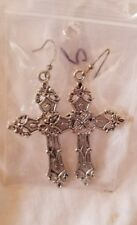 Earrings Dangle Cross Jewelry Large Costume New Novelty Celtic