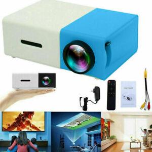Mini Projector Pocket LED Home Cinema LCD HD 1080P Portable Cinema HDMI USB AV
