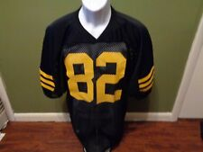 VINTAGE RUSSELL ATHLETIC FOOTBALL JERSEY SIZE ADULT MEDIUM BLACK AND YELLOW