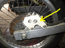 Kawasaki 125 KMX - Plaque Protection Etrier + VIS
