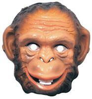 Monkey Plastic Mask, Halloween Accessory, Rubies