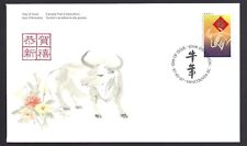 Canada   FDC  # 1630       YEAR OF THE OX     1997   45c  New & Unaddressed
