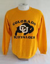Vintage Colorado Buffaloes CU Hanes Sweatshirt Made in USA, Sz L, Used!