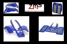 NEW YAMAHA BANSHEE YFZ 350 DARK BLUE COMPLETE PLASTIC FENDER KIT FULL SET BODY