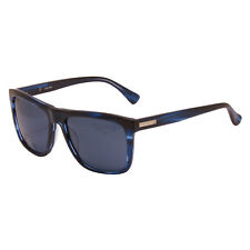 Calvin Klein CK - Blue Marble Classic Rectangular Style Sunglasses with Case