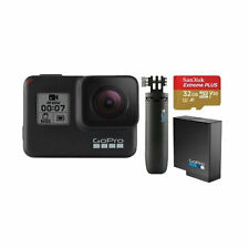 GoPro Hero7 Black Holiday-Bundle Actioncam Kamera Outdoor Camera Camcorder 4K60