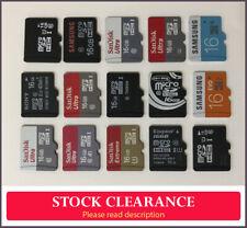 15 x 16gb microSD /  memory cards