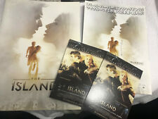 Japan THE ISLAND pressbook flyer postcards Scarlett Johansson Ewan McGregor 2005