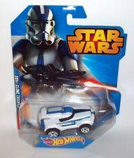 Hot Wheels 1/64 Scale appx CGW41 Star Wars Disney 50st Clone Trooper toy car