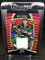 2019-20 Upper Deck Allure Red Rainbow Jersey Rookie #70 Nico Sturm