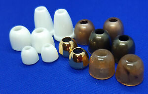 4 Cord Ends Stopper For Bands Bell Plastic Various Colour Size Selection
