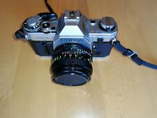 Canon AE-1 Programm 35mm SLR-Kamera mit Canon 50mm Objektiv
