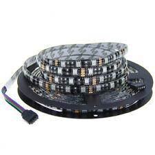 5M LED Strip light 5050 Black PCB DC12V Flexible RGB Warm white white blue green