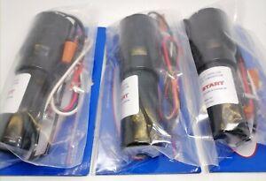 3X RCO410 3 in1Start Relay Refrigerator Compressor Hard Start CapacitorUniversal