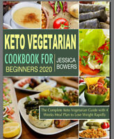 Keto Vegetarian Cookbook for Beginners 2020 – The Comple PDF/Eb00k Fast Delivery