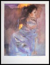 Christine Comyn Odalisque en vert 7549 Poster Kunstdruck im Alu Rahmen schwarz