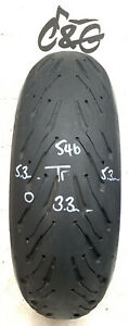 Michelin Road 5 2ct    190/55zr17 75w    Part Worn Motorcycle tyre 546