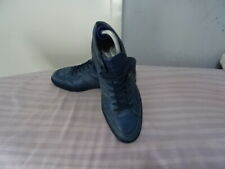 MENS TOD'S MADE IN ITALY BLUE LACE-UP SNEAKERS SZ UK 6.5/EU 40.5 GREAT CONDITION