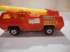 Matchbox Blaze Buster No 22 Superfast  free dom ship/ins          170019