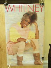 WHITNEY HOUSTON - Whitney - 13.25 x 22 inches    Rare 1985 promo POSTER