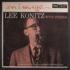 "LEE KONITZ: An Image LP (Mono, punch hole, 1"" spine split, worn/split top seam)"