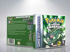 Pokémon Version Emeraude - Game Boy Advance - Cover/Case - NO Game - FR