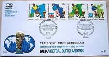 Stadspost Leiden - FDC WK Voetbal, Football 1974 in Duitsland (1a) 2
