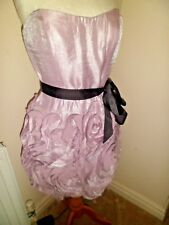 Stunning BNWT Adrianna Papell Cocktail Dress in Petal UK 14 rrp £199.00