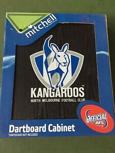 AFL North Melbourne Kangaroos - Dartboard Cabinet only