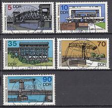 DDR 1988 Mi. Nr. 3203-3207 TOP Vollstempel Gestempelt LUXUS!!! (22488)