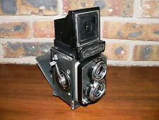 Vintage Minolta Autocord TLR Camera w/Working Shutter~Needs Some Repair