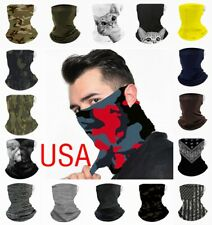 MultiUse Face Mask Shield Bandana Reusable Washable Covering Scarf Neck Gaiter