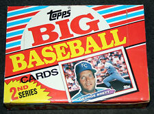 1988 TOPPS BIG BASEBALL CARDS SERIES TWO UNOPENED FULL WAX BOX W/ 36 PACKS