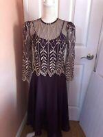 Cache Dress Size Medium petite