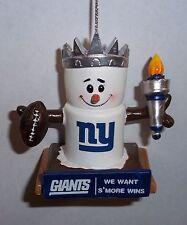 NY Giants Theme Smore Christmas Tree Ornament