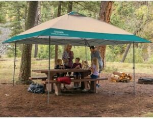 Coleman 13 x 13ft (3.9 x 3.9 m) Instant Eaved Shelter / Gazebo / Steel Frame