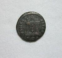 PROBUS. AE ANTONINIANUS, 276-282 AD. ROMA IN TEMPLE REVERSE.