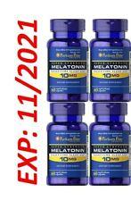 Melaton 10MG Sleep Pastillas Muy Potente 4X60 Rápido Liberación Cápsulas En USA