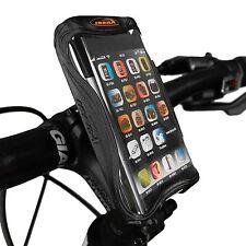 Ibera Bike Black Handlebar Phone Case & Cycling Adjust Stem Mount NEW IB-PB9Q4BK