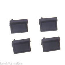 TAPONES PROTECTORES PARA PUERTOS USB NEGROS