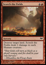 MTG 4x SCORCH THE FIELDS - BRUCIARE I CAMPI - DKA - MAGIC